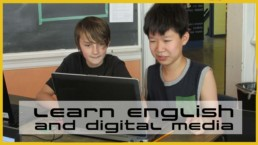 Learn English AND Digital Media!