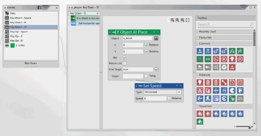 Screenshot Gamemaker GUI